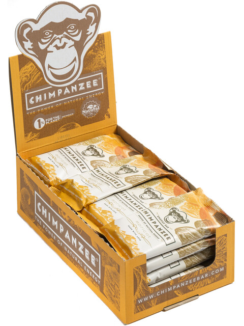 Chimpanzee Energy Bar - Nutrición deportiva - Albaricoque (Vegano) 20 x 55g